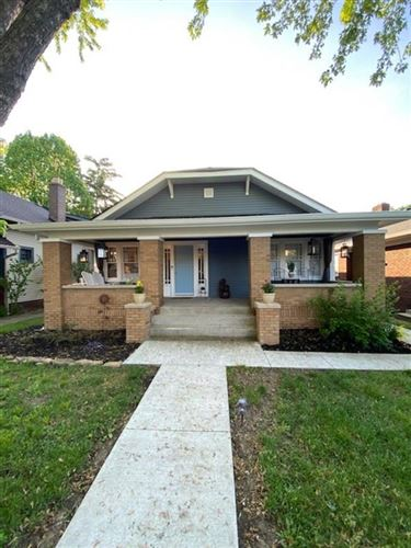 Photo of 737 North Bancroft Street, Indianapolis, IN 46201 (MLS # 21712575)