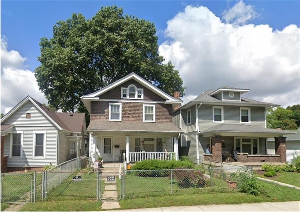 918 North Temple Avenue, Indianapolis, IN 46201 - #: 21768575