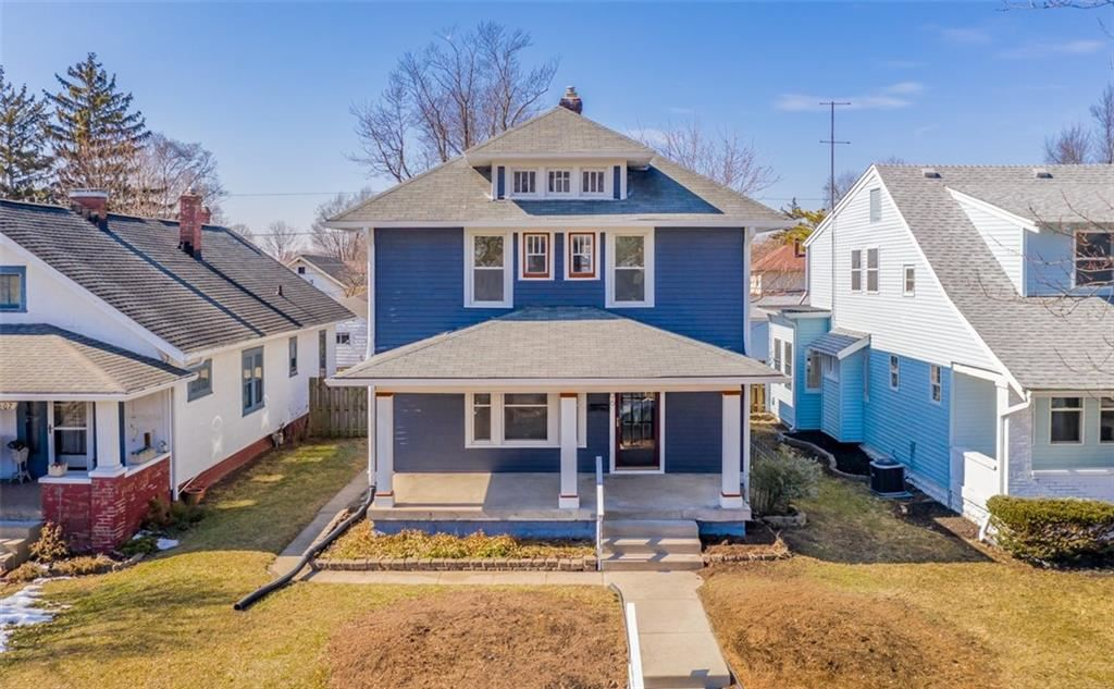 606 North Dequincy Street, Indianapolis, IN 46201 - #: 21768579