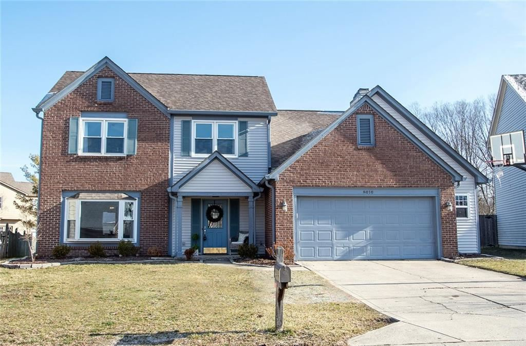 8616 Burrell Lane, Indianapolis, IN 46256 - #: 21695581