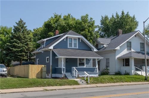 Photo of 4110 E 10th Street, Indianapolis, IN 46201 (MLS # 21801585)