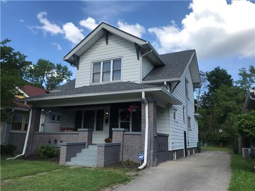 Photo of 29 North Sheridan, Indianapolis, IN 46219 (MLS # 21676597)