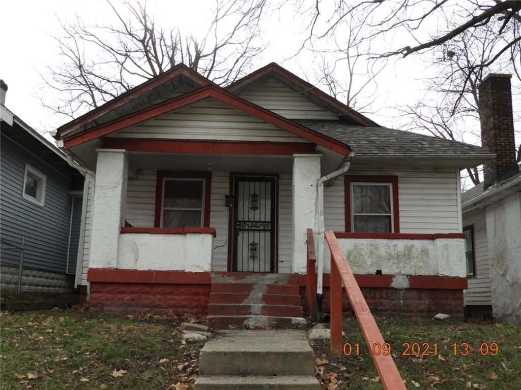 1343 West Roache Street, Indianapolis, IN 46208 - MLS#: 21764602