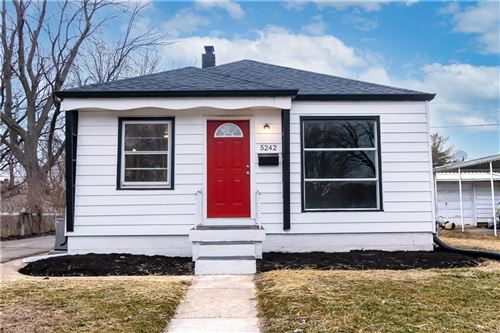Photo of 5242 East 20th Street, Indianapolis, IN 46218 (MLS # 21760610)