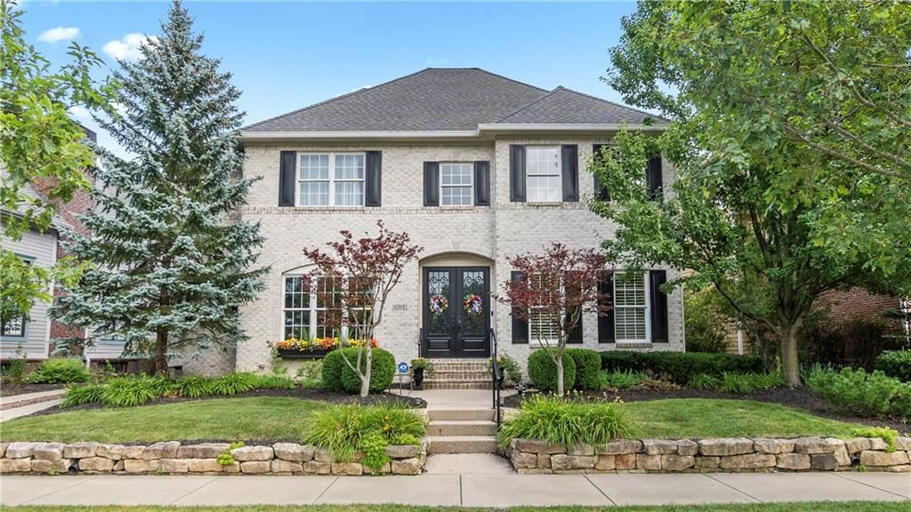 6715 West Stonegate Drive, Zionsville, IN 46077 - #: 21725612
