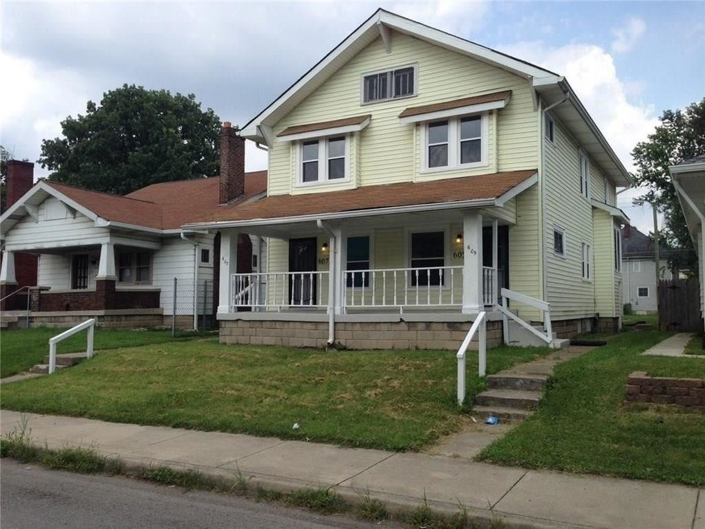 605-607 North Beville, Indianapolis, IN 46201 - #: 21748630