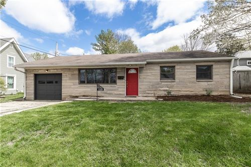 Photo of 115 North Spring Street, Greenfield, IN 46140 (MLS # 21778657)
