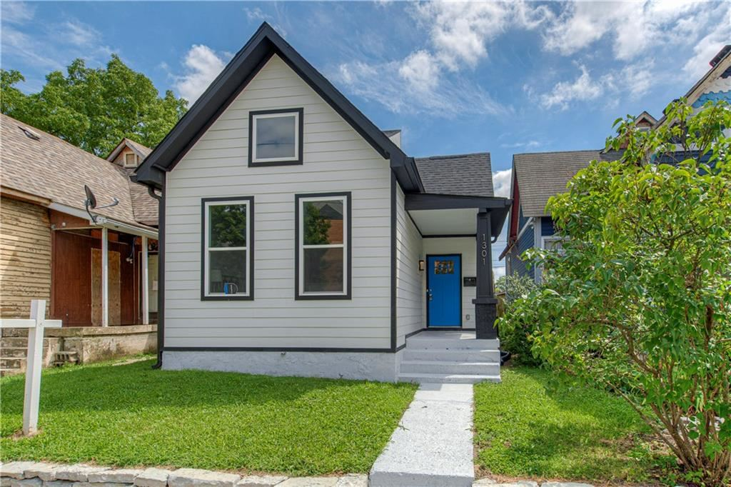 Photo of 1301 East MARKET Street, Indianapolis, IN 46202 (MLS # 21729665)