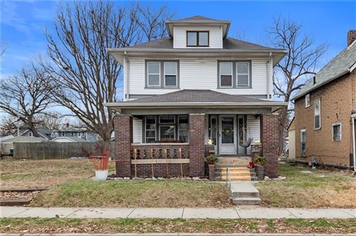 Photo of 1344 North Tuxedo Street, Indianapolis, IN 46201 (MLS # 21690678)