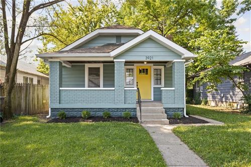 Photo of 3921 East 11th Street, Indianapolis, IN 46201 (MLS # 21720699)