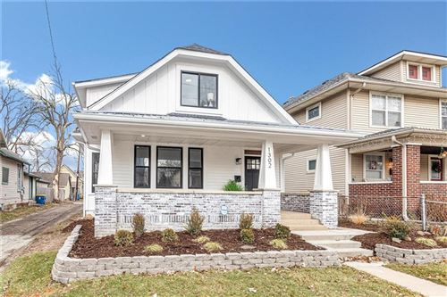Photo of 1302 East Vermont Street, Indianapolis, IN 46202 (MLS # 21681702)