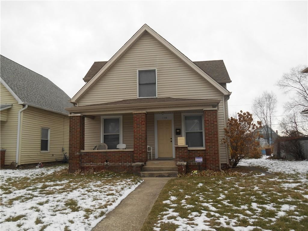 110 South Elder Avenue, Indianapolis, IN 46222 - #: 21764706
