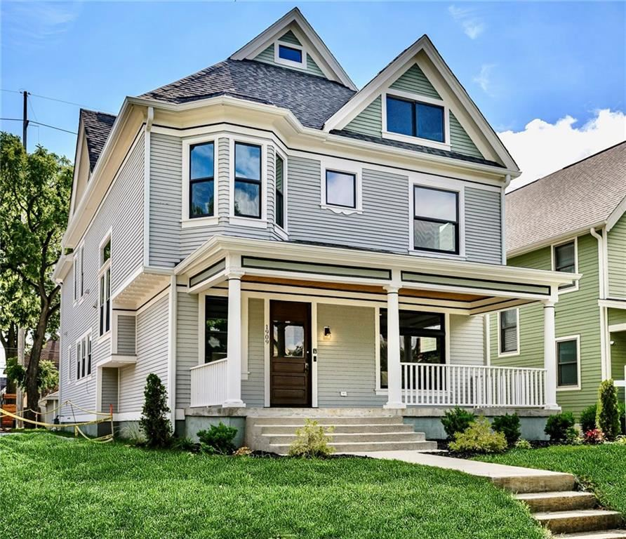 1909 North New Jersey Street, Indianapolis, IN 46202 - #: 21699712