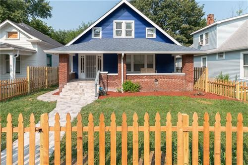 Photo of 1336 North DEARBORN Street, Indianapolis, IN 46201 (MLS # 21731721)