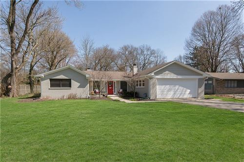 Photo of 7355 Spring Mill Road, Indianapolis, IN 46260 (MLS # 21696723)