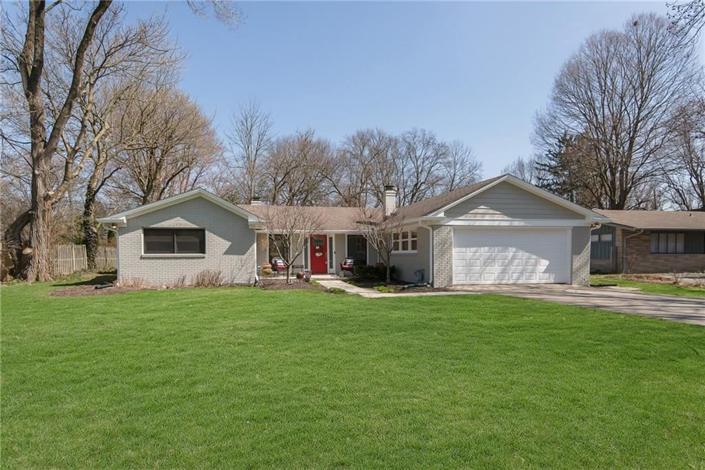 7355 Spring Mill Road, Indianapolis, IN 46260 - #: 21696723