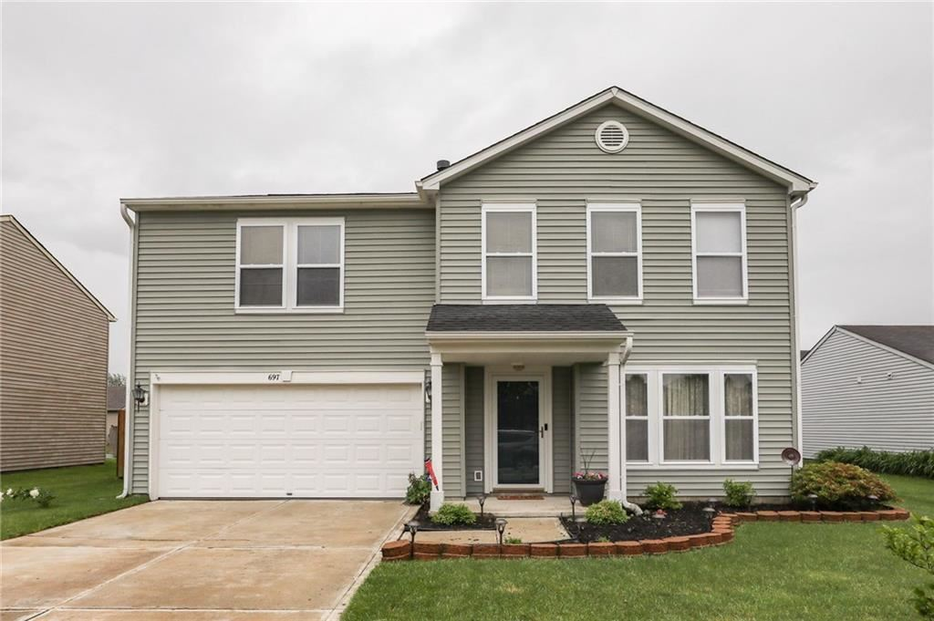 697 Hickory Pine Drive, New Whiteland, IN 46184 - #: 21714733
