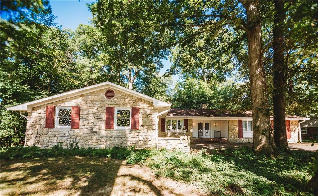 420 Mellowood Drive, Indianapolis, IN 46217 - #: 21739749