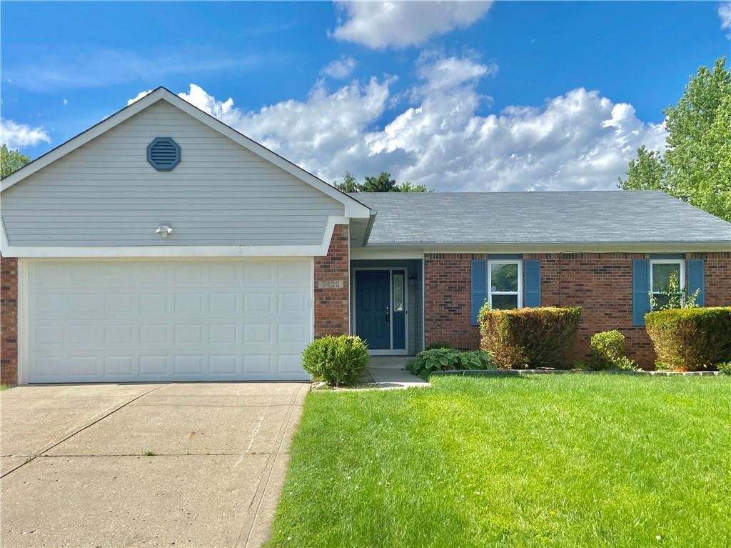 7438 North Red Rock N Road, Lawrence, IN 46236 - #: 21714765