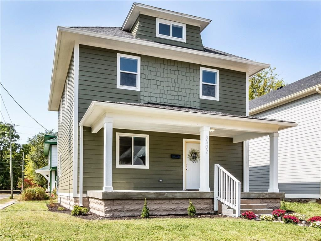 Photo of 3302 Graceland Avenue, Indianapolis, IN 46208 (MLS # 21740770)