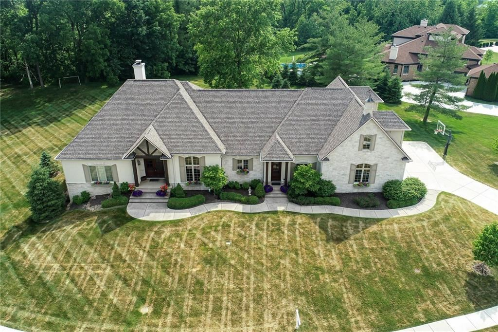 11628 Willow Springs Drive, Zionsville, IN 46077 - #: 21694773