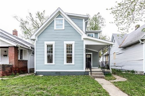 Photo of 342 East Minnesota Street, Indianapolis, IN 46225 (MLS # 21711786)