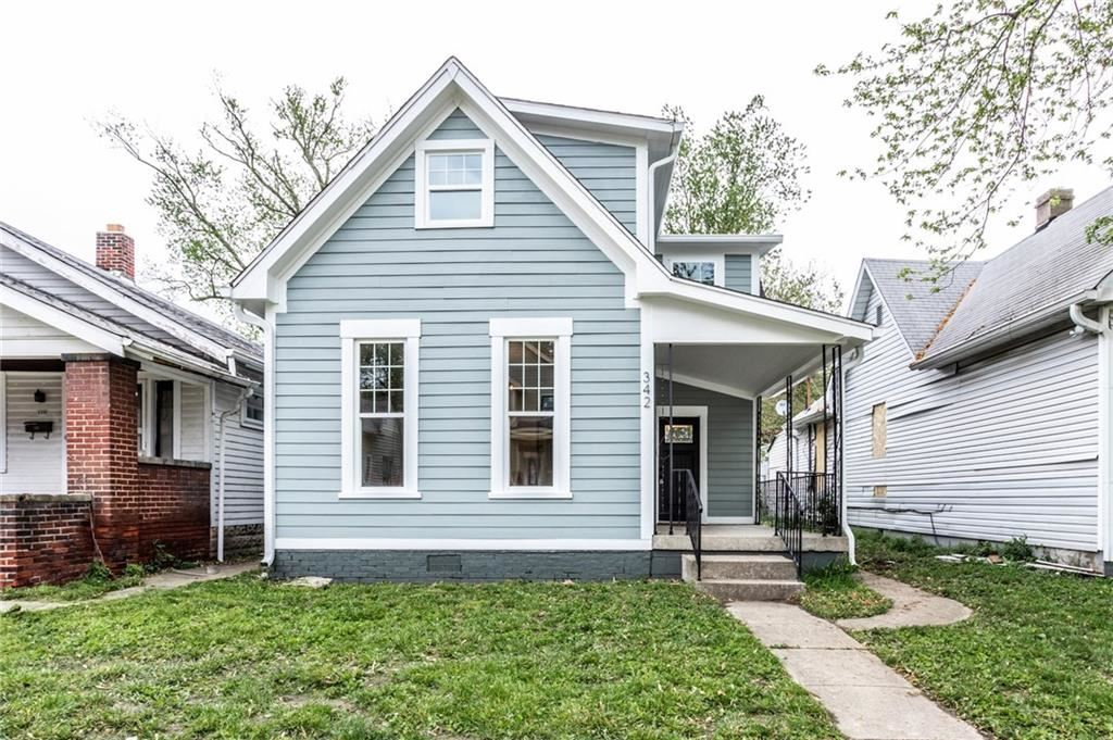 342 East Minnesota Street, Indianapolis, IN 46225 - #: 21711786
