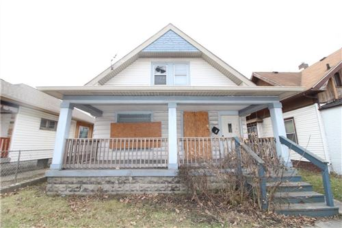 Photo of 3609 East 10th Street, Indianapolis, IN 46201 (MLS # 21700788)