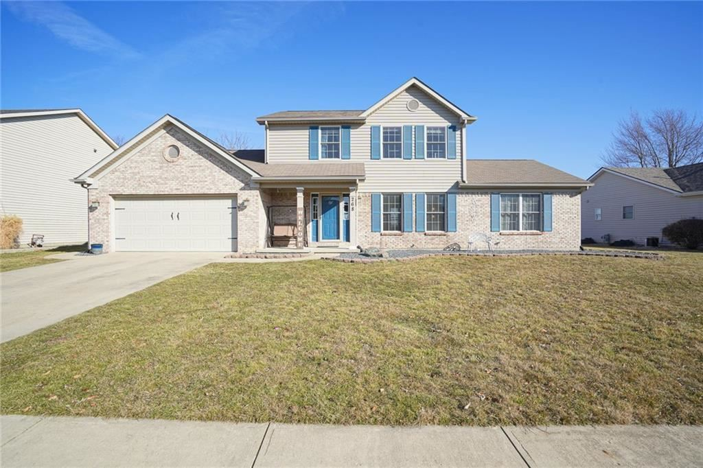 268 Blue Spruce Drive, Pendleton, IN 46064 - #: 21768794