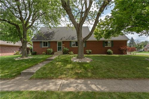 Photo of 5808 West 29th Place, Speedway, IN 46224 (MLS # 21729816)
