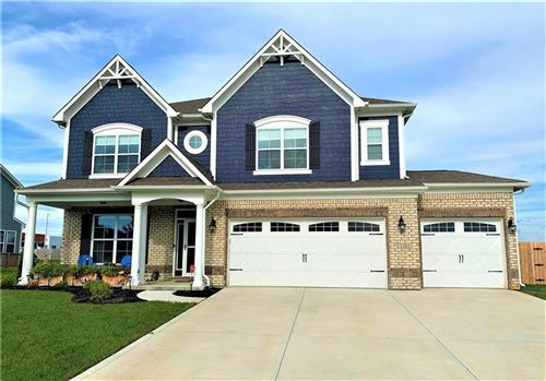Photo of 1203 Station Drive, Greenwood, IN 46143 (MLS # 21735842)