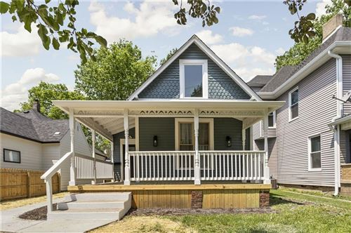 Photo of 1106 Newman Street, Indianapolis, IN 46201 (MLS # 21786858)