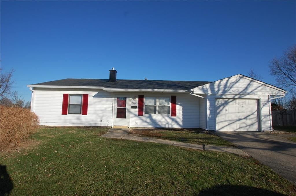 2826 North Carla Court, Indianapolis, IN 46219 - #: 21684862
