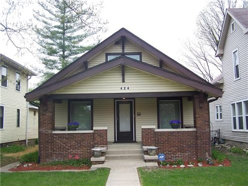 Photo of 424 North Emerson Avenue, Indianapolis, IN 46219 (MLS # 21780877)