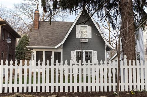 Photo of 4732 North KENWOOD Avenue, Indianapolis, IN 46208 (MLS # 21702884)