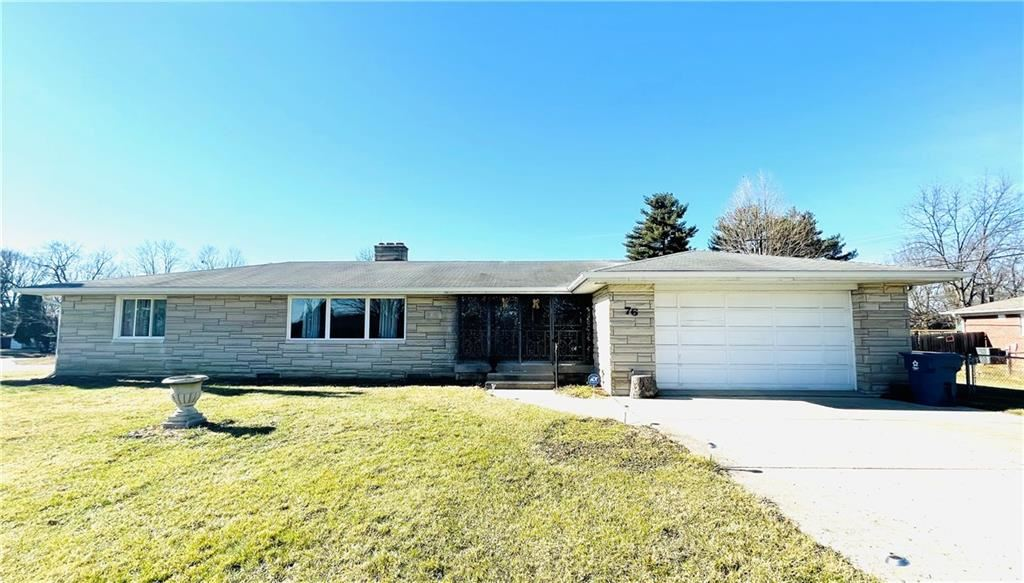 76 Kirk E Drive, Indianapolis, IN 46234 - #: 21769896