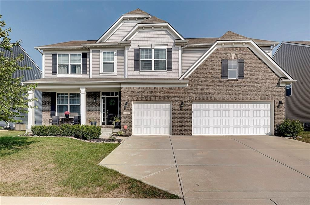 4443 Goose Rock Drive, Indianapolis, IN 46239 - #: 21737912