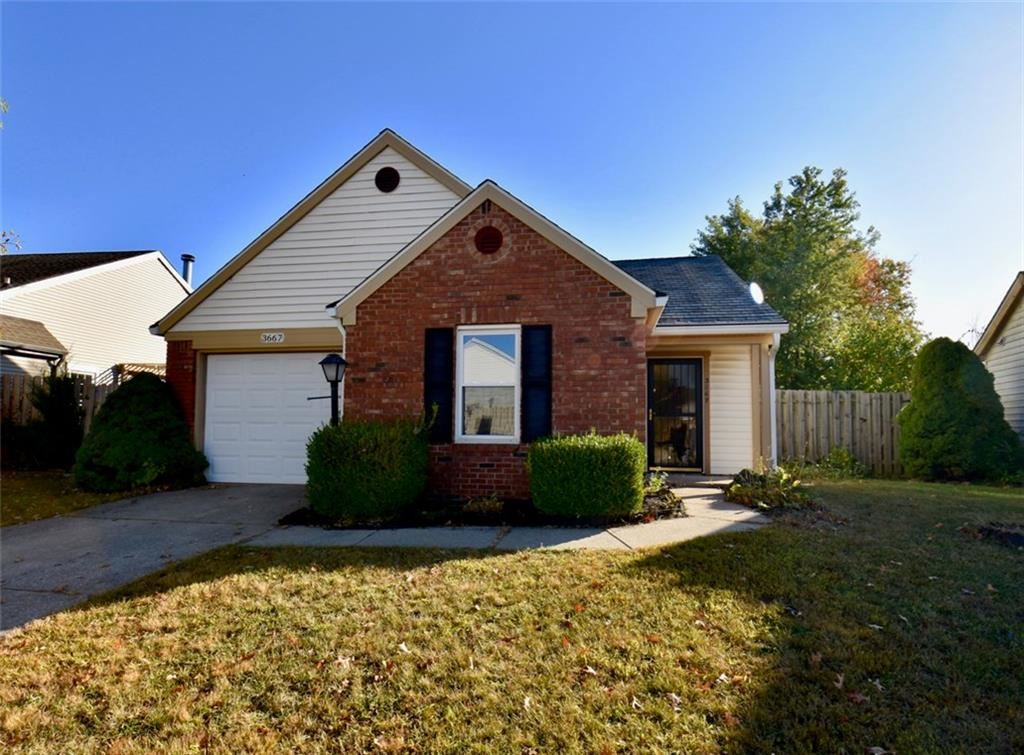 3667 SMALLWOOD Lane, Indianapolis, IN 46214 - #: 21745913