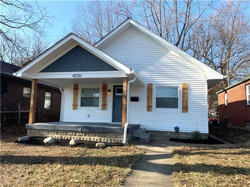 Photo of 4230 North WINTHROP AVE Avenue, Indianapolis, IN 46205 (MLS # 21752926)
