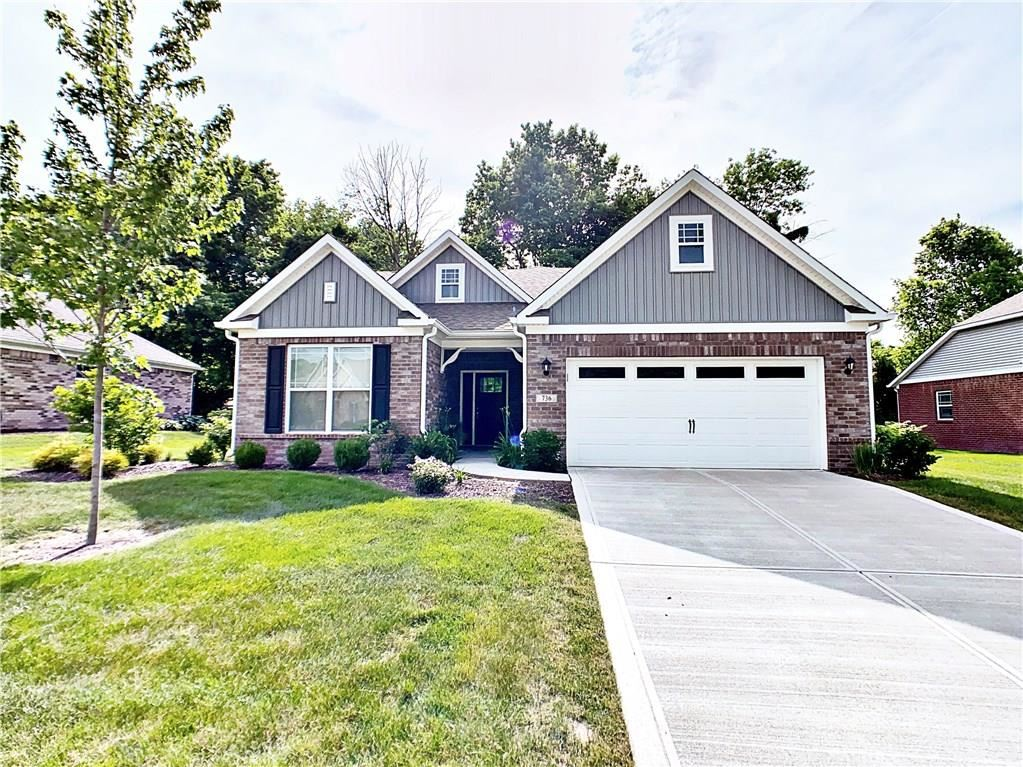 736 North Johnson Branch Road, Greenfield, IN 46140 - #: 21716926