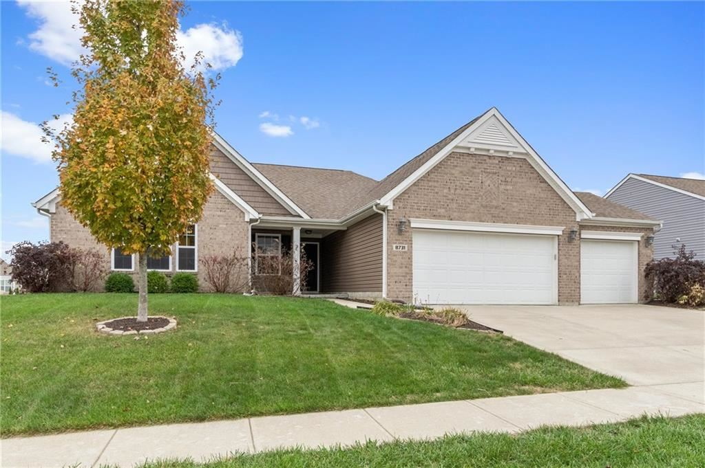 8731 Blue Marlin Drive, Indianapolis, IN 46239 - #: 21678938