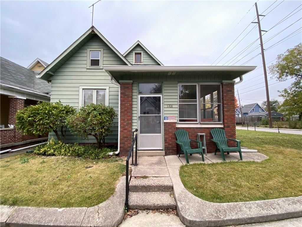 1706 South Delaware Street, Indianapolis, IN 46225 - #: 21746956