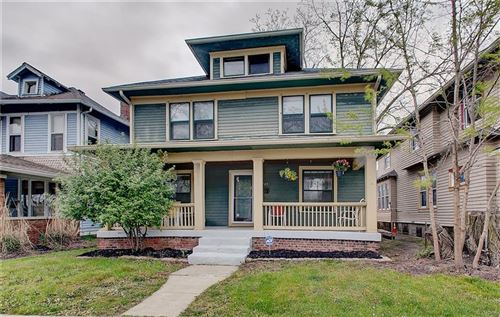 Photo of 2123 North TALBOTT Street, Indianapolis, IN 46202 (MLS # 21707961)