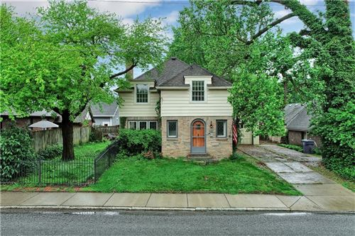 Photo of 116 West 49th Street, Indianapolis, IN 46208 (MLS # 21714988)