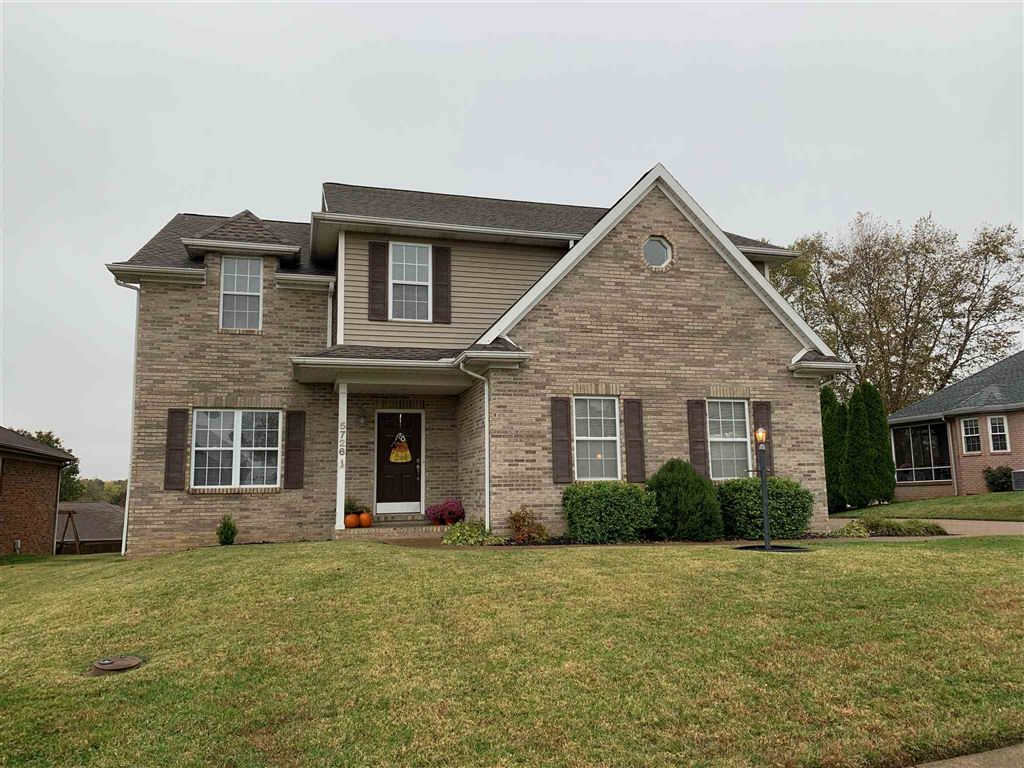 5726 Ledge Stone Drive, Evansville, IN 47711 - #: 201948000