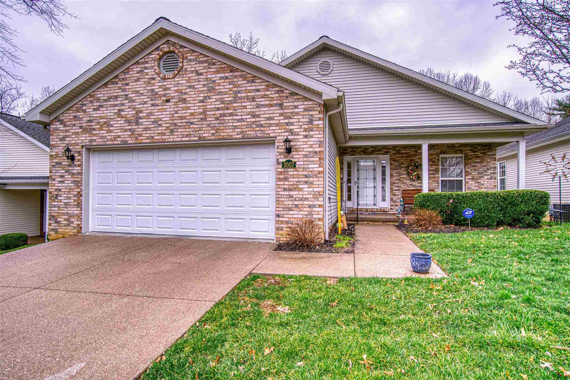 3007 Fawn Hill Drive, Evansville, IN 47711 - #: 202009029