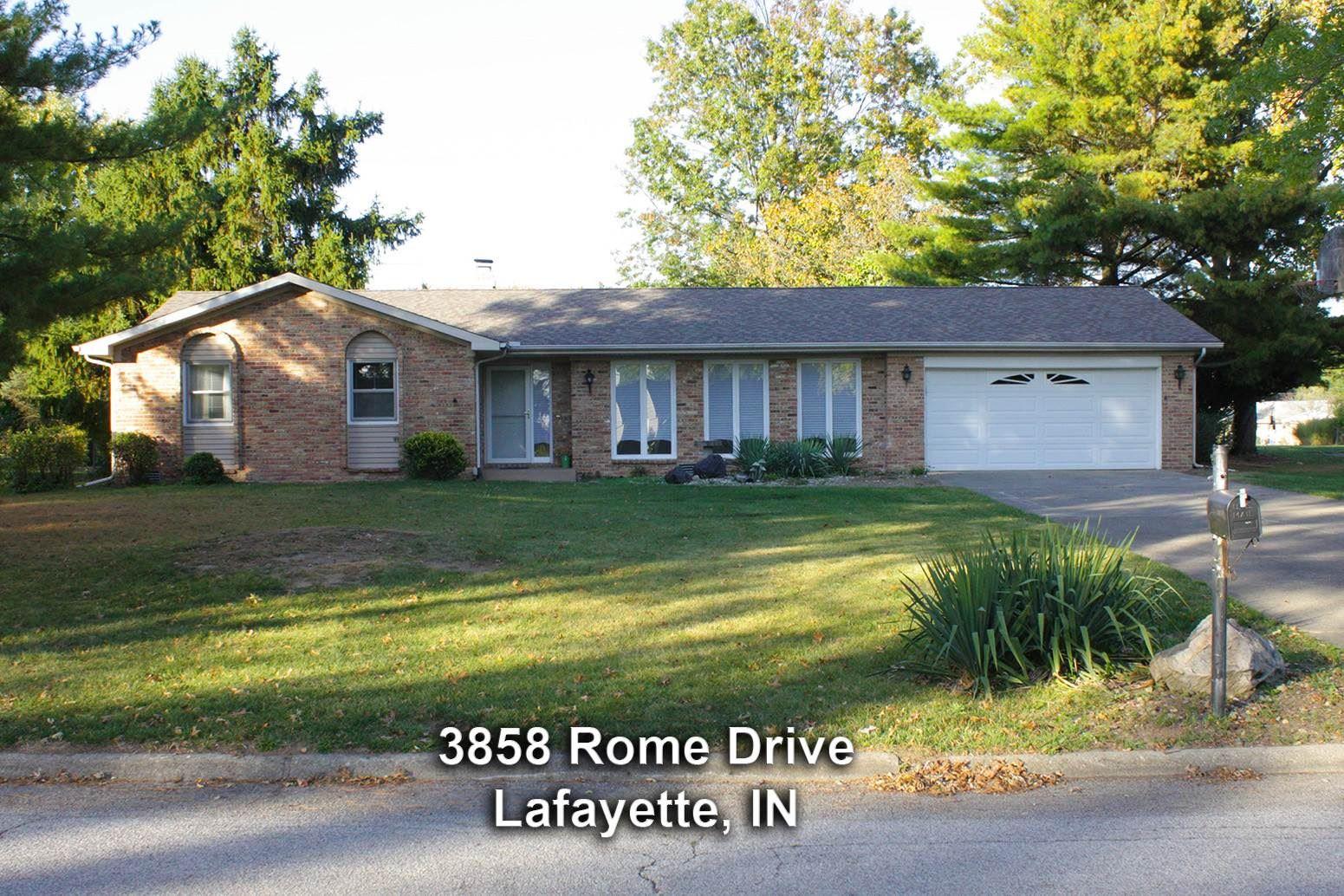 3858 Rome Drive, Lafayette, IN 47905 - #: 202041057