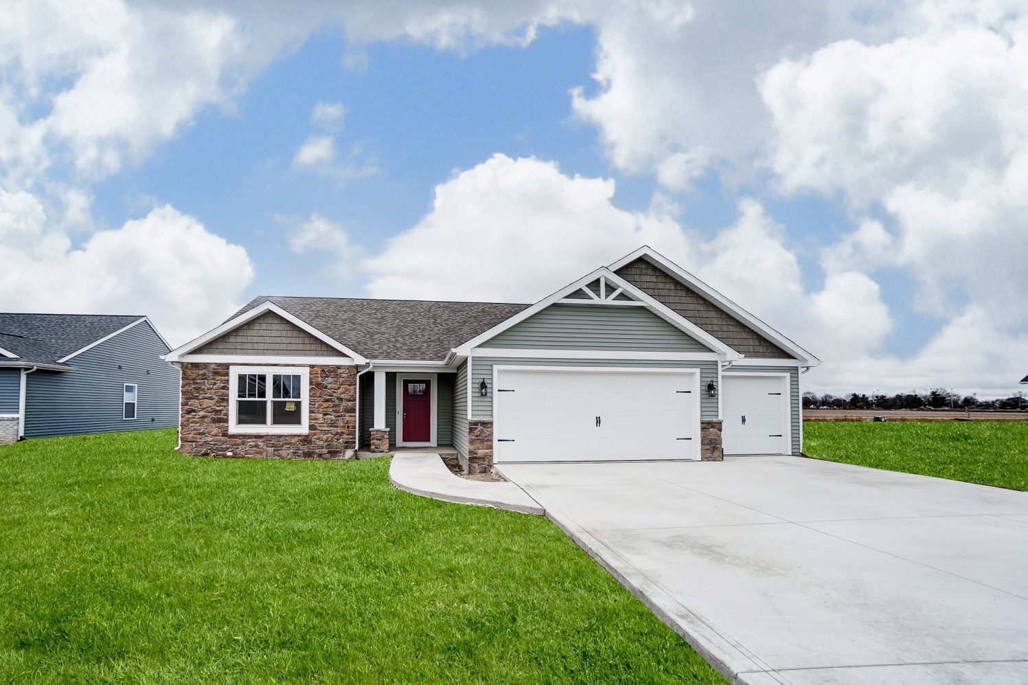 1439 Monte Carlo Drive, Huntertown, IN 46748 - #: 202100064