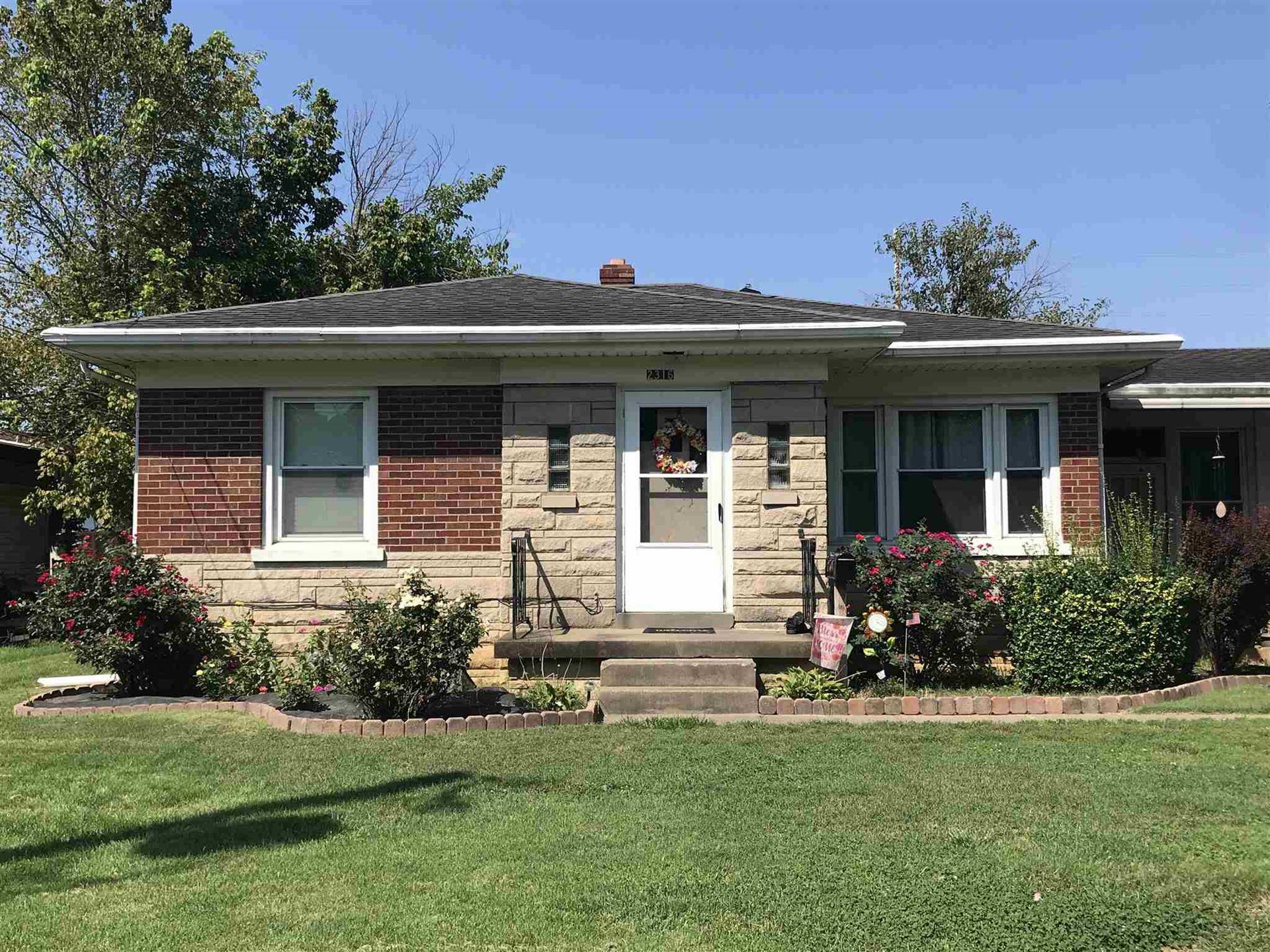 2316 E Eichel Avenue, Evansville, IN 47711 - #: 202036066