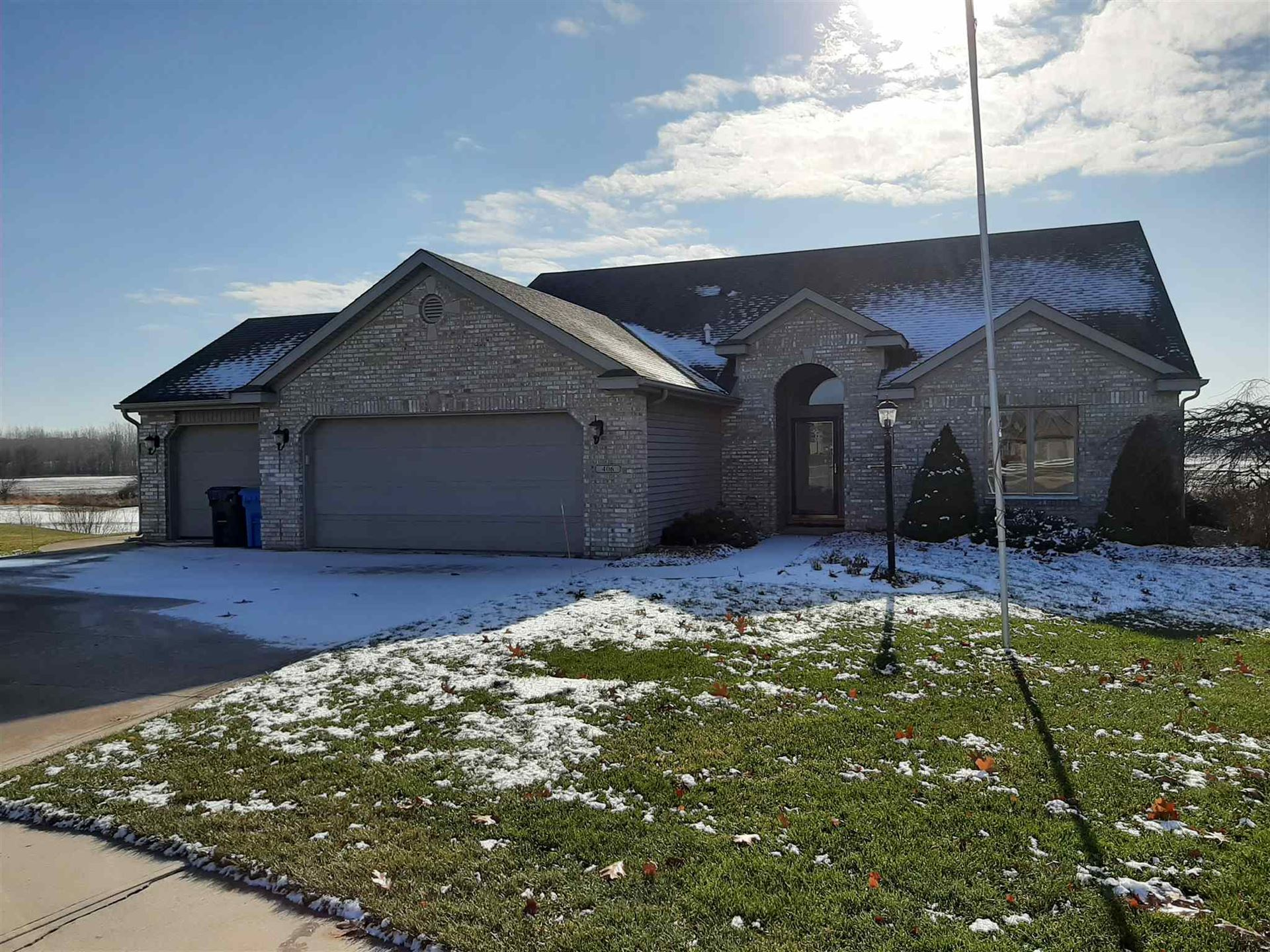 406 S Pumpkin Ridge Court, Columbia City, IN 46725 - #: 201952095